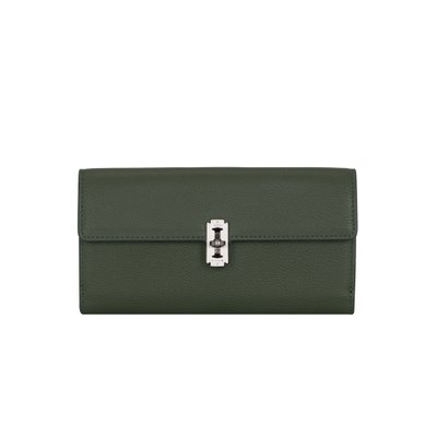 [vunque]  Perfec folded long wallet (퍼펙 2단 장지갑) Khaki_VQB01WL7311