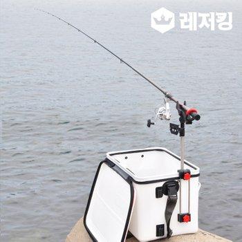 국산 하야로비 2단 로드스탠드  미끼통거치대 HY-314