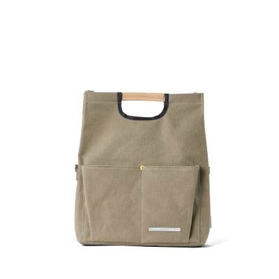 PARK PACK FOLDING TOTE 281 CANVAS SAGE GREEN