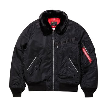 INJECTOR MOD FLIGHT JACKET BLACK