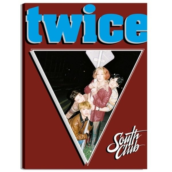 사우스클럽 (South Club) - 두 번 (4Th 싱글앨범) / South Club - Twice (4Th Single Album)