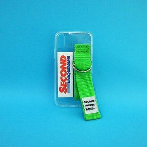 SUN CASE CLEAR YELLOW GREEN (CARD) (JELLY CASE)