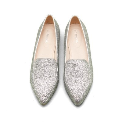 Pearl Loafer Silver [펄 로퍼 실버]