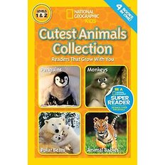 National Geographic Readers: Cutest Animals Collection (Paperback)  - National Geographic Readers
