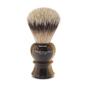 REGENCY SHAVE BRUSH Horn