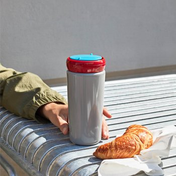 Travel Cup 0.35L Grey