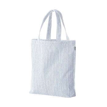 RIVI CANVAS BAG White/Blue