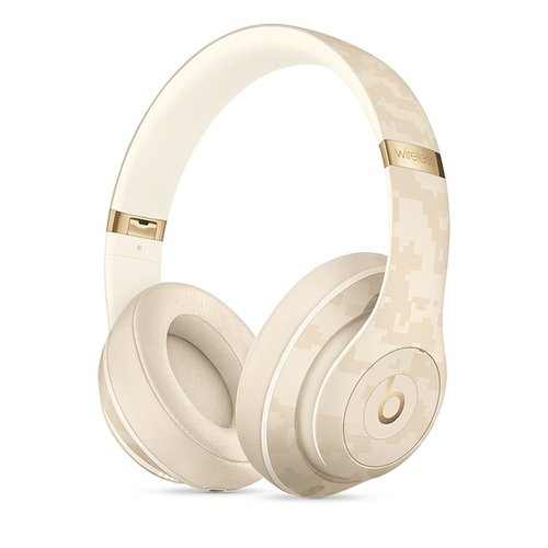 [현대카드 구매 시 10% 할인, ~ 3/24] Beats Studio3 Wireless 헤드폰 - Beats Camo Collection - 샌드 듄(MWUJ2PA/A)