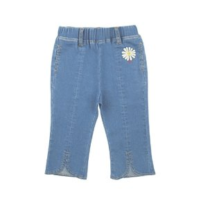Daisy baby flared denim pants