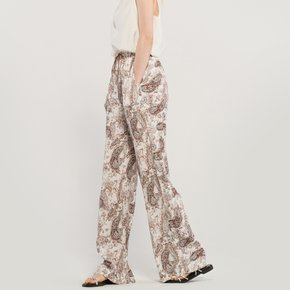 Paisley Wide Trouser