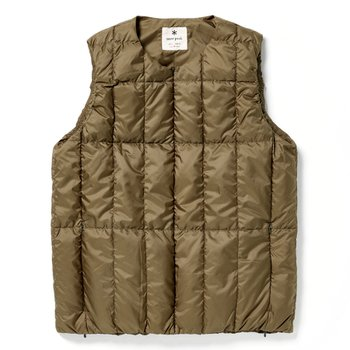 Recycled Middle DownVest OLIVE