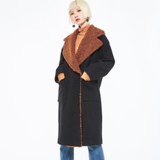 [블랭크] FUR MIX COAT3COLOR (2850381)