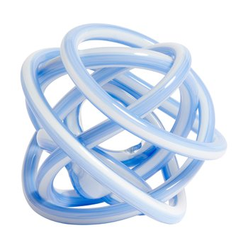 KNOT L LIGHT BLUE