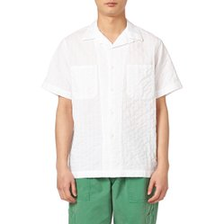 MAIMI CAMP SHIRTS WHITE