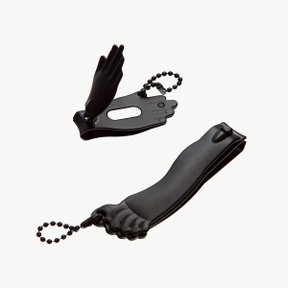HAND+FOOT NAIL CLIPPER BLACK