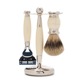 EDWARDIAN SHAVING SET Ivory (Fusion)