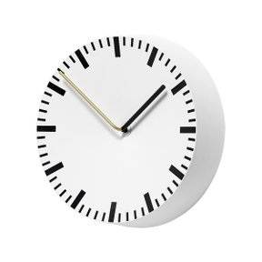 ANALOG WALL CLOCK WHITE