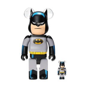 400%+100% BEARBRICK BATMAN ANIMATED SET
