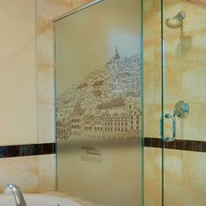 [오엔디자인_shower Booth Sticker] 기억 속 풍경 - Scenery in my Memory (소;610mm*1800mm)