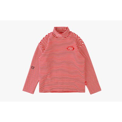 [20% SALE] Icebiscuit stripe turtleneck tee