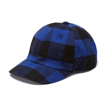 BUFFALO CHECK CAP 블루