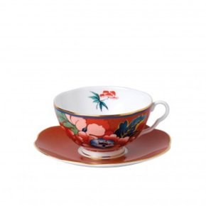 [해외직구][웨지우드]  Red Teacup and Saucer Set