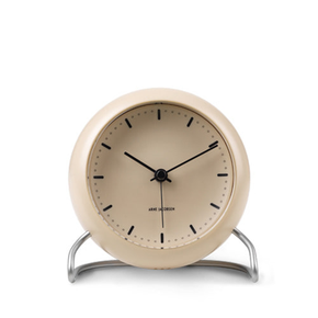 [이노메싸]AJ Table Clock City Hall Sandy Beige (43693)