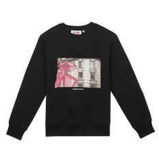 [FW19 Pink Panther] Picture Sweatshirts(Black)