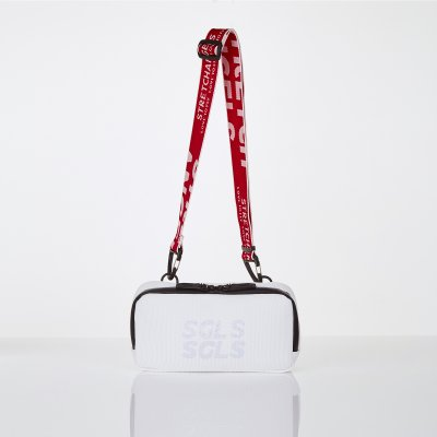 [L.P.Y] SGLS spangle 2way hands-free bag (White)