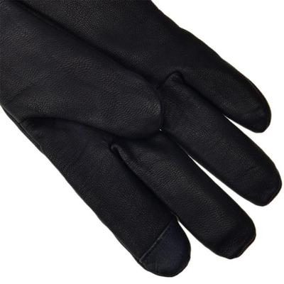 [어그]남성 TABBED SPLICE VENT LEATHER GLOVE BLACK