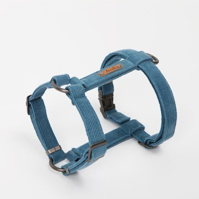 [HARNESS]_CORDUROY_Steel blue