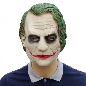 Real Rubber Mask [Joker] _partypang-Party Fang [Free Shipping]