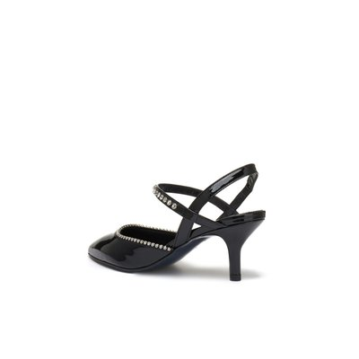 Swan sling back(black)_DG2DX19014BLK