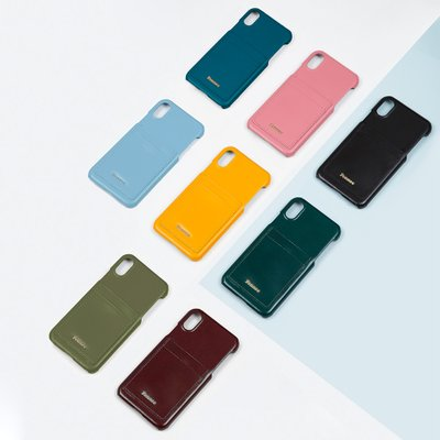 FENNEC LEATHER IPHONE X/XS CARD CASE (7color)