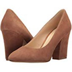 Scheila Dark Natural Suede