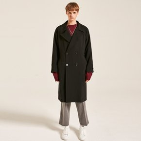 OVERSIZE DOUBLE COAT_BLACK