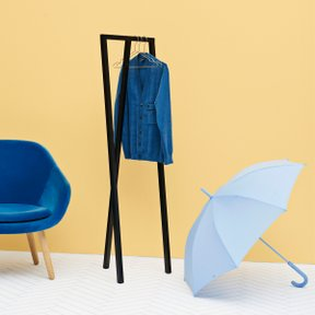 MONO UMBRELLA, LIGHT BLUE