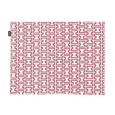 H55 PLACE MAT White/Red