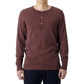 206 HENLEY LONG SLEEVE RED OAK