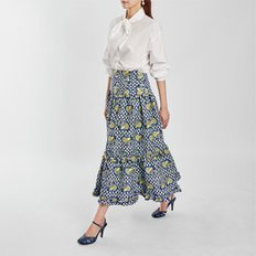 / heart jacquard full skirt