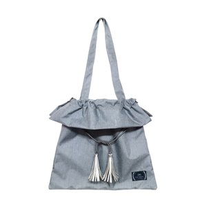 JORI TASSEL BAG-P.GRAY