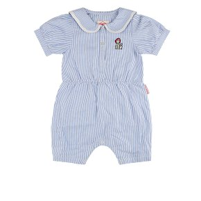 MVP sailor collar baby summer overall