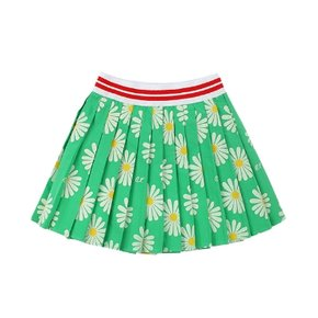 Multi daisy pleats skirt