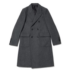 wool double long coat_C9CAW18859GYX