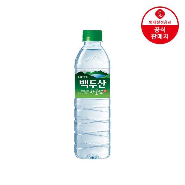 [롯데] 백두산 하늘샘 500㎖펫 (20입 x 2박스)
