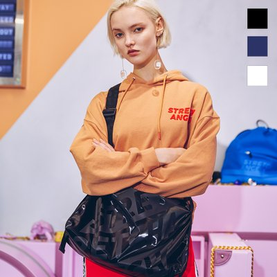 [L.P.Y] Diagonal logo soft gym-bag (3color)