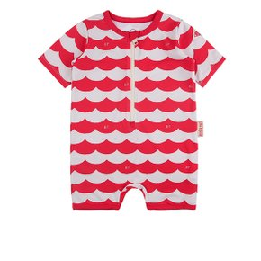 Multi scarlet wave baby swimsuit / BP8206143