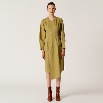 Cocoon Sleeve Dress_KH