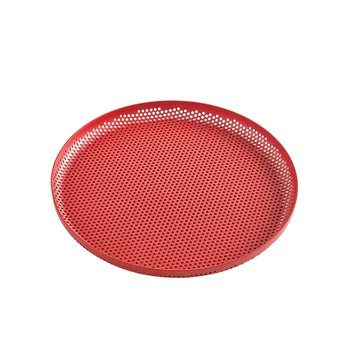 PERFORATED TRAY M RED