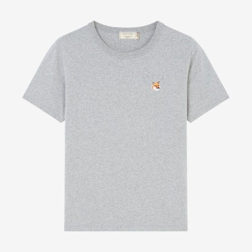 [PRE-ORDER] 19FW TEE-SHIRT FOX HEAD PATCH GREY WOMEN AW00103KJ0005
